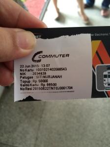 Top Up Kartu Commuter